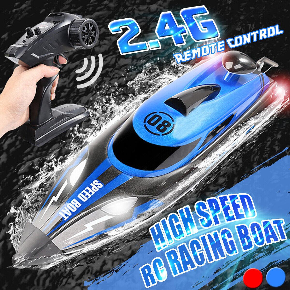 6S Lipo 106cm 2,4 GHz NEU RC Rennboot Speedboot ALPHA red Brushless 80km//h 4S