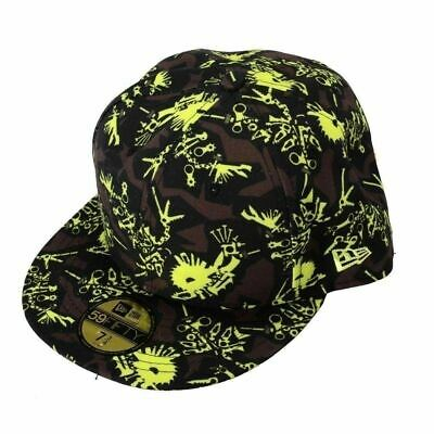 Kenzo Multi-Color Patterned Men's Baseball Cap Sz US 7 3/8 IT 61.5 cm