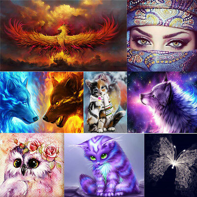 5D Diamond Painting Kits Halloween Cross Stitch Embroidery Rhinestone DIY Crafts ()