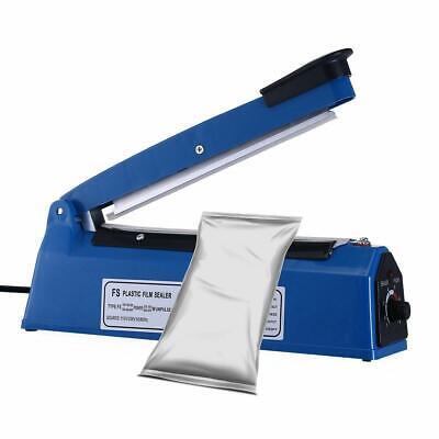 8 New Plastic Impulse Heat Poly Bag Sealer Plastic Closer Machine Quick Sealing