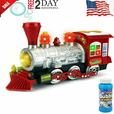Toys For Kids Toddler Steam Train 3 4 5 6 7 Year Old Age Boys Girls Cool Toy