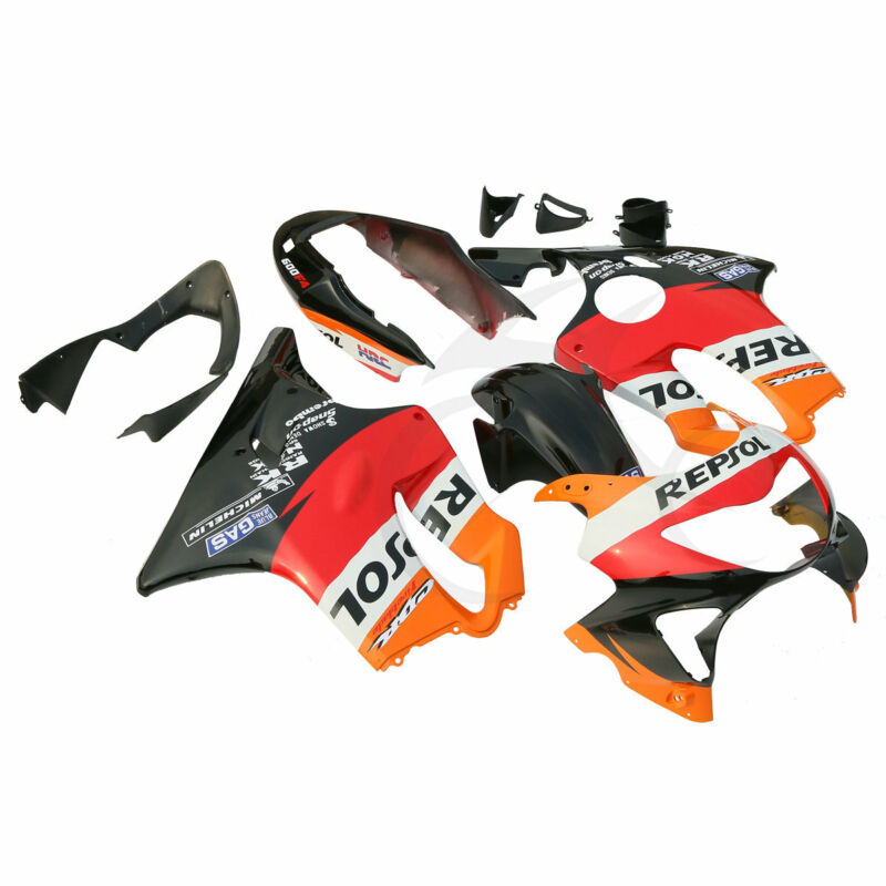 Repsol Injection ABS Fairing Bodywork Kit For Honda CBR600F4 CBR600 F4 99 00 New