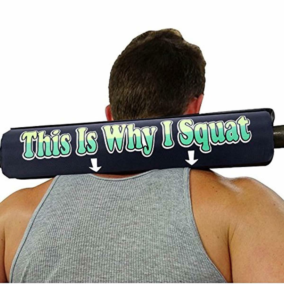 Gym Squat Rack Accessories I Bar Pad Neck Sponge de Aser Eje