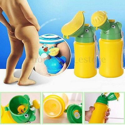 Portable Urinal Toilet Potty Training Baby Kid Toddler Boy Girl Car Travel Pee