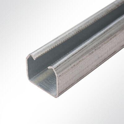 Laufschiene verzinkt 35x30mm bis 100 Kg Schiebetor Schiebetür Hallentor 2 Meter