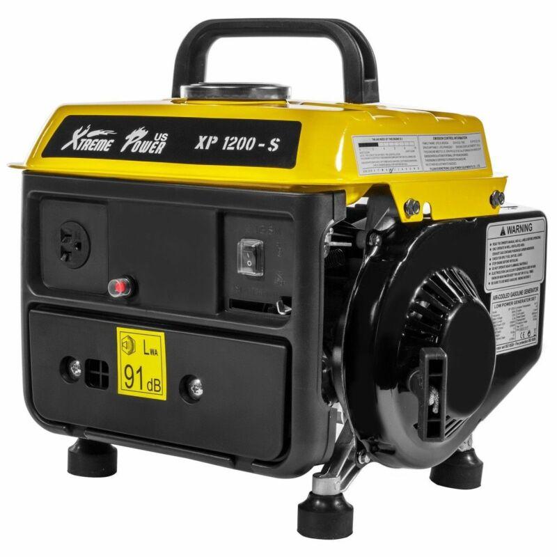 1200 Watt Generator 2-Stroke 63cc Gasoline Engine Camping RV Portable Power Tool