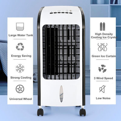 Portable Room Air Conditioner Indoor Cooler Fan Humidifier Conditioning System