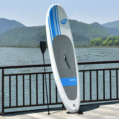 305CM/10FT Inflatable Stand Up Surfing Board Soft Surf Paddle Board W/ Package