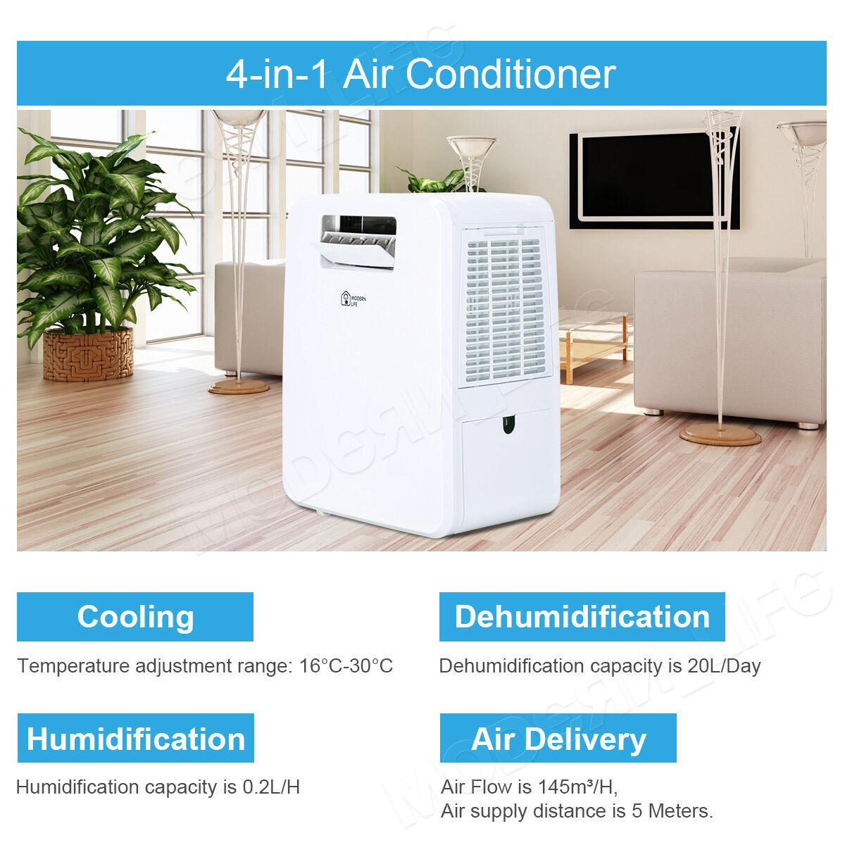 Mini Portable Air Conditioner Humidifier Dehumidifier Unit