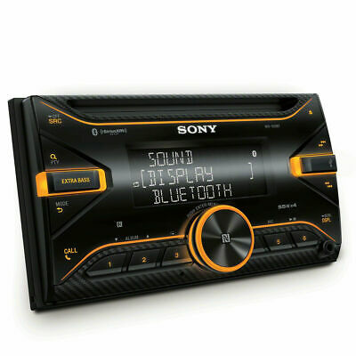 Sony WX-920BT, Double DIN CD/MP3 Bluetooth Car Stereo