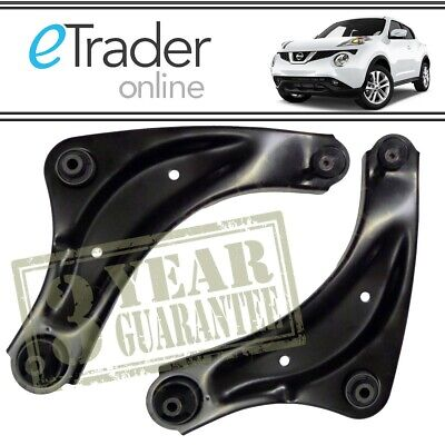 FOR Nissan Juke Front Lower Wishbones 2010-2017 Suspension Arms Wishbone x2 PAIR