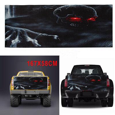 Gta Halloween (Car Truck Pickup Rear Window Tailgate Horror Halloween Skull Vinyl Decal)