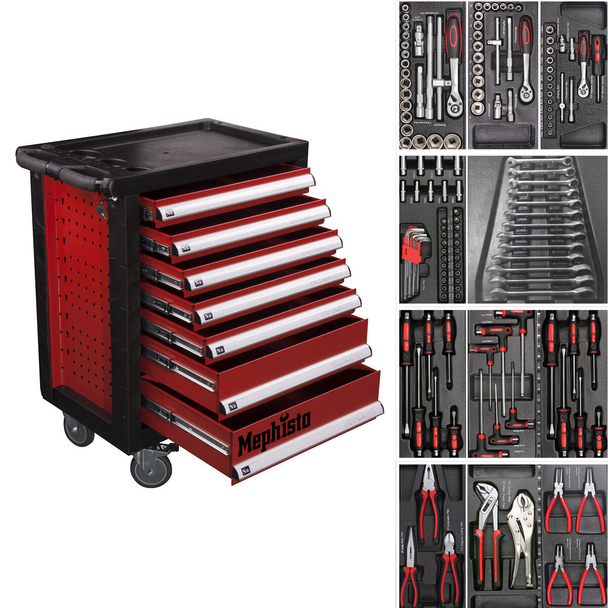 werkzeugwagen mit werkzeug test vergleich werkzeugwagen mit werkzeug g nstig kaufen. Black Bedroom Furniture Sets. Home Design Ideas