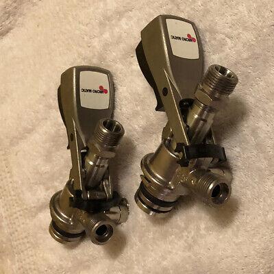 Pair Micro Matic Keg U System Beer Coupler Tap Draft Spigot Dispenser X 2
