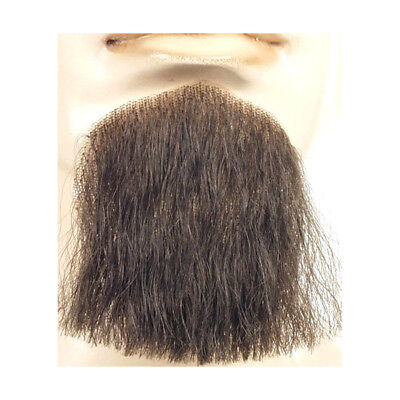 Brown and Grey Beard Goatee Chin Salt and Pepper Halloween Costume Facial Hair - Salt Halloween Costume