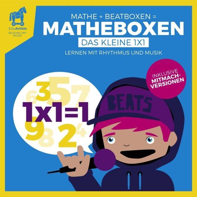 EDUARTISTS - MATHEBOXEN (DAS KLEINE 1X1)   CD NEU