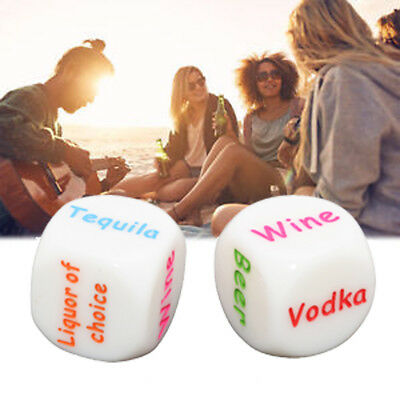 Fun Casino Games For Parties (Bar drinking dice for fun party games  ( 2 piece)