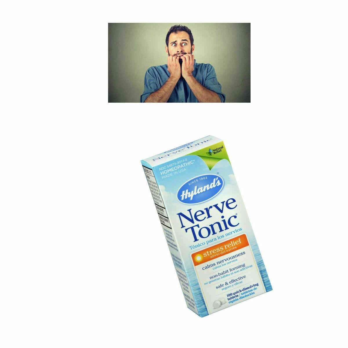Pastillas Para Los Nervios Tratamiento Anti Estres Suplementos Aliviar Ansiedad 4