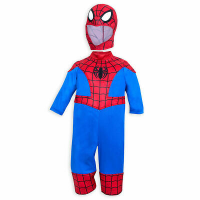 NWT Disney Store Spider-Man Costume for Baby 6-12M