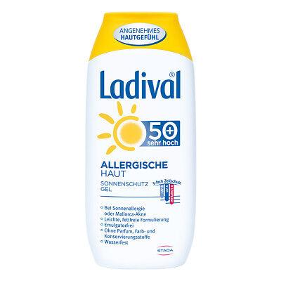Ladival allergische Haut Gel Lsf 50+ 200ml PZN 03520421