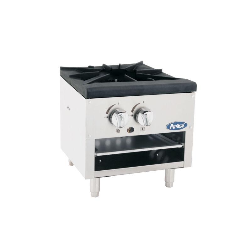 Atosa Atsp-18-1l Cookrite 3-ring Gas Low Stock Pot Range W/ Cast Iron Burner