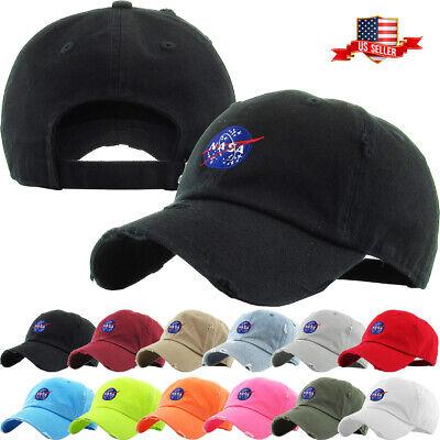 Nasa Insignia Dad Hat Baseball Cap Unconstructed - KBETHOS Insignia Baseball Cap