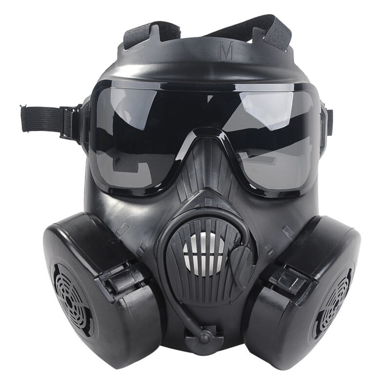 M50 Airsoft Gas Mask Googles Paintball Protective Cs