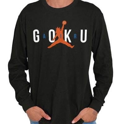 Air Goku Dragon Shirt | Ball Z Funny Sports Athletic Clutch Long Sleeve T Shirt ()