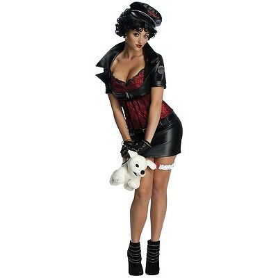 Betty Boop Biker Chick Costume 50s Pin Up Girl Rockabilly Halloween Fancy Dress