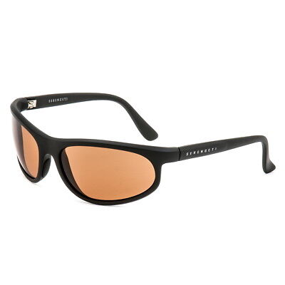 Serengeti 5602 Summit Sunglasses Black Drivers Glass Lens - Authorized (Pinnacle Lenses)