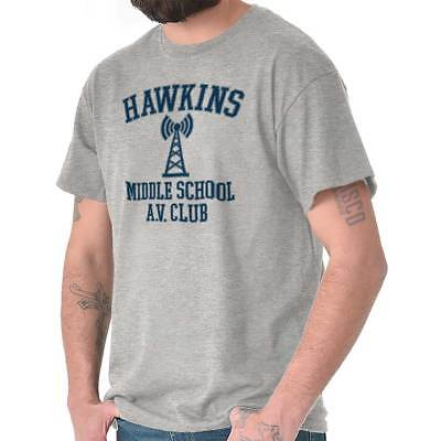 Hawkins Middle School AV Club Funny Gift Cool Stranger Things T-Shirt Tee - School Things