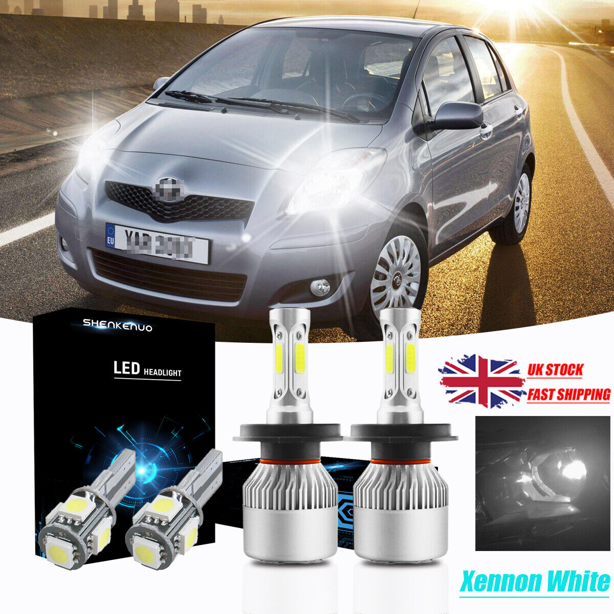 Rover Streetwise Super White Xenon HID Upgrade Parking Beam Side Light Bulbs