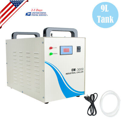 Industrial Water Chiller Cw-3000 For Cnc Laser Engraver Engraving Machines 9l