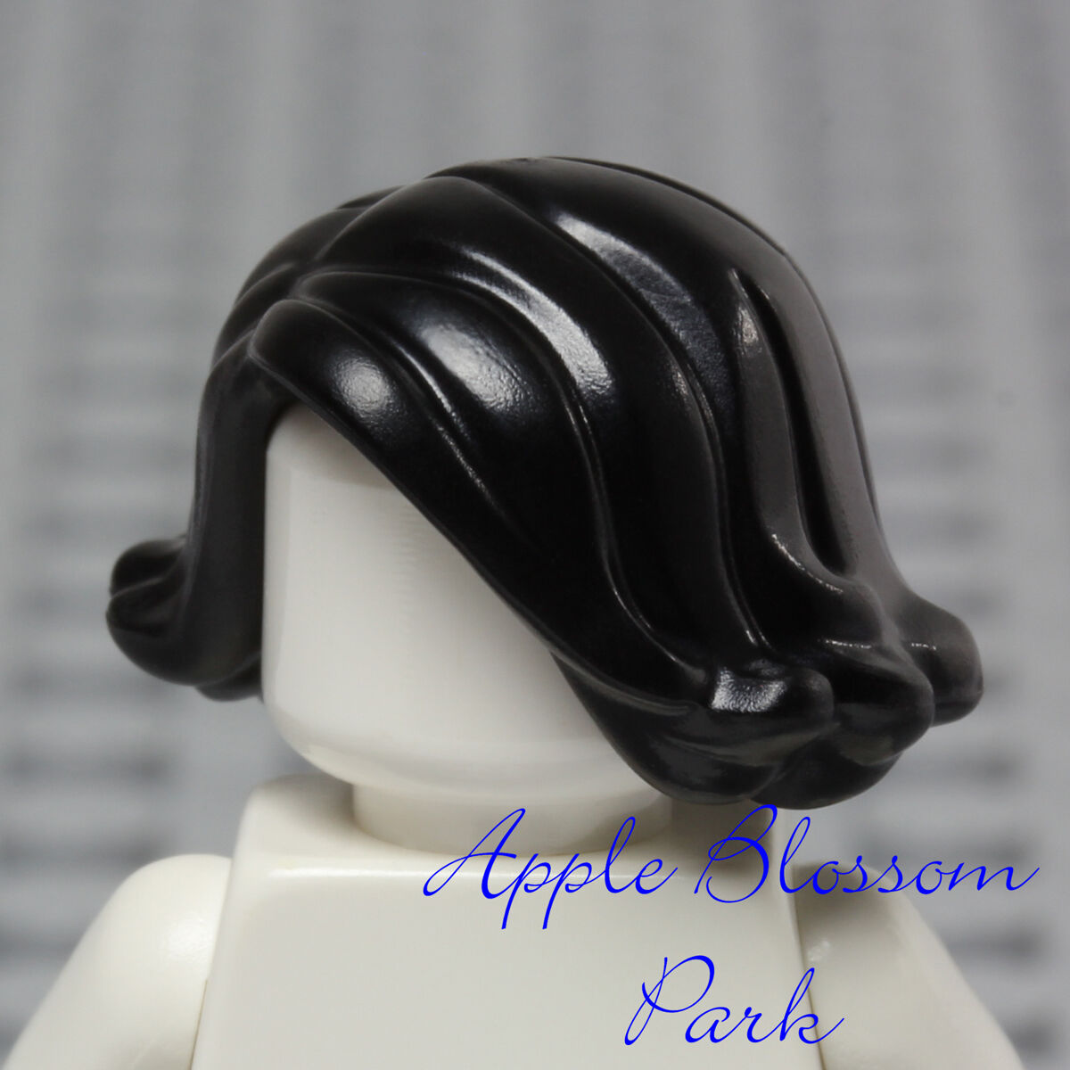 ☀️NEW Lego Minifig Hair Female Girl Reddish Brown Wavy Over the Shoulder