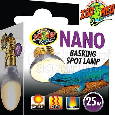 Nano Basking Spot Lamp Bulb 25 watt Terrarium Reptile Tank 25W Zoo Med