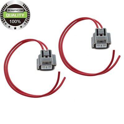 2PCS IPR /& ICP Pigtail Connectors Sensor For Ford E F Serie Ecolnine V8 7.3L
