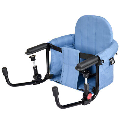 Portable Hook-On Table High Chair Clip-On Folding Baby Table Chair Toddler Seat