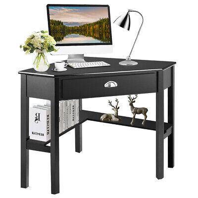 Corner Computer Desk Laptop Writing Table Wood Workstation