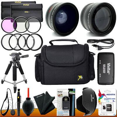 Kamerazubehör Satz für Nikon D5300 D3300 D5200 D3200 D5100 Digital SLR Kamera (Digitale Slr-kamera, 3200)