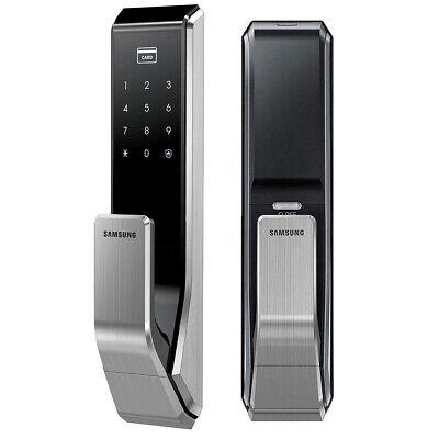 SAMSUNG SHS-P710 Key Less PUSH PULL Digital Smart Door Lock w/ 2EA Key-tags