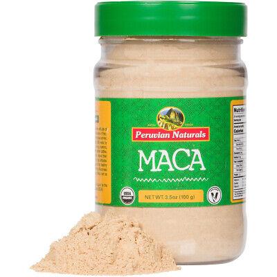 Organic Maca Powder 3.5oz (100g) | Peruvian Naturals - certified-organic