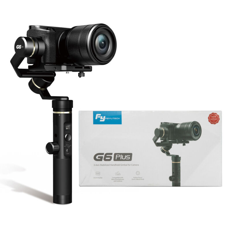 FeiyuTech G6 Plus Handheld Gimbal 3-Axis Stabilizer 3-in-1