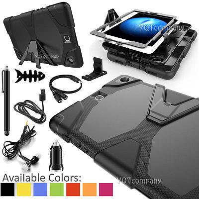 For Samsung Galaxy Tab Tablet Heavy Duty Combo Hard Hybrid S