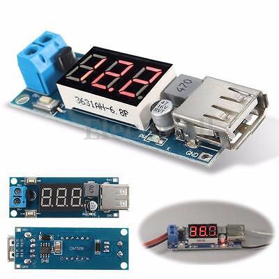Dc-dc 4.5-40v Step-down Led Voltmeter Usb Buck Voltage Converter Module 5v2a