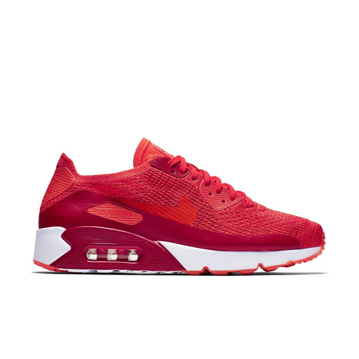 3158e583dda4e Nike Air Max 90 Ultra 2.0 Flyknit UK 9 Bright Crimson Red Trainers ...