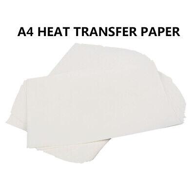 100pcs A4 Sublimation Heat Transfer Paper For Heat Press Machine Print Photo Mug