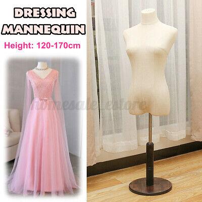 Female Mannequin Dressmaker Model Dummy Display Torso 120-170cm Adjustable