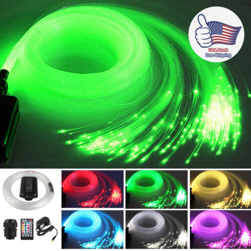12W LED Fiber Optic Lights Music Control 12V Car roof Star S