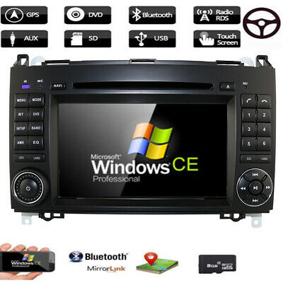 DAB+ Autoradio Mercedes Benz A/B Klasse GPS Navi DVD Sprinter Vito Viano Crafter