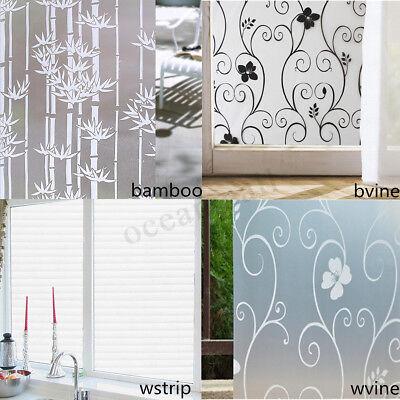 Dekorative Folien (3D Multi-Muster Waterpoof dekorative Fensterfolien Glas für Home-Office-Datensch)